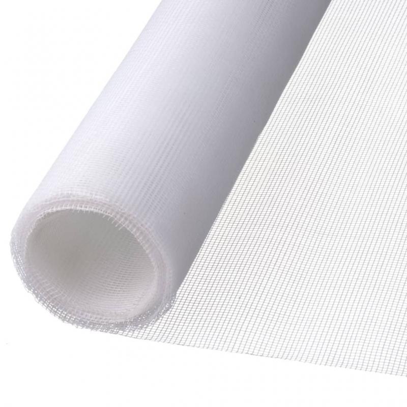 Nature Moskitonetz und Insektenschutz 1 x 3m Fiberglas Weiß