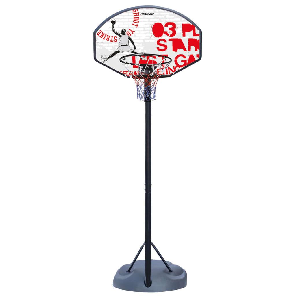 Avento Basketballständer Champion Shoot Verstellbar Schwarz Weiß Rot