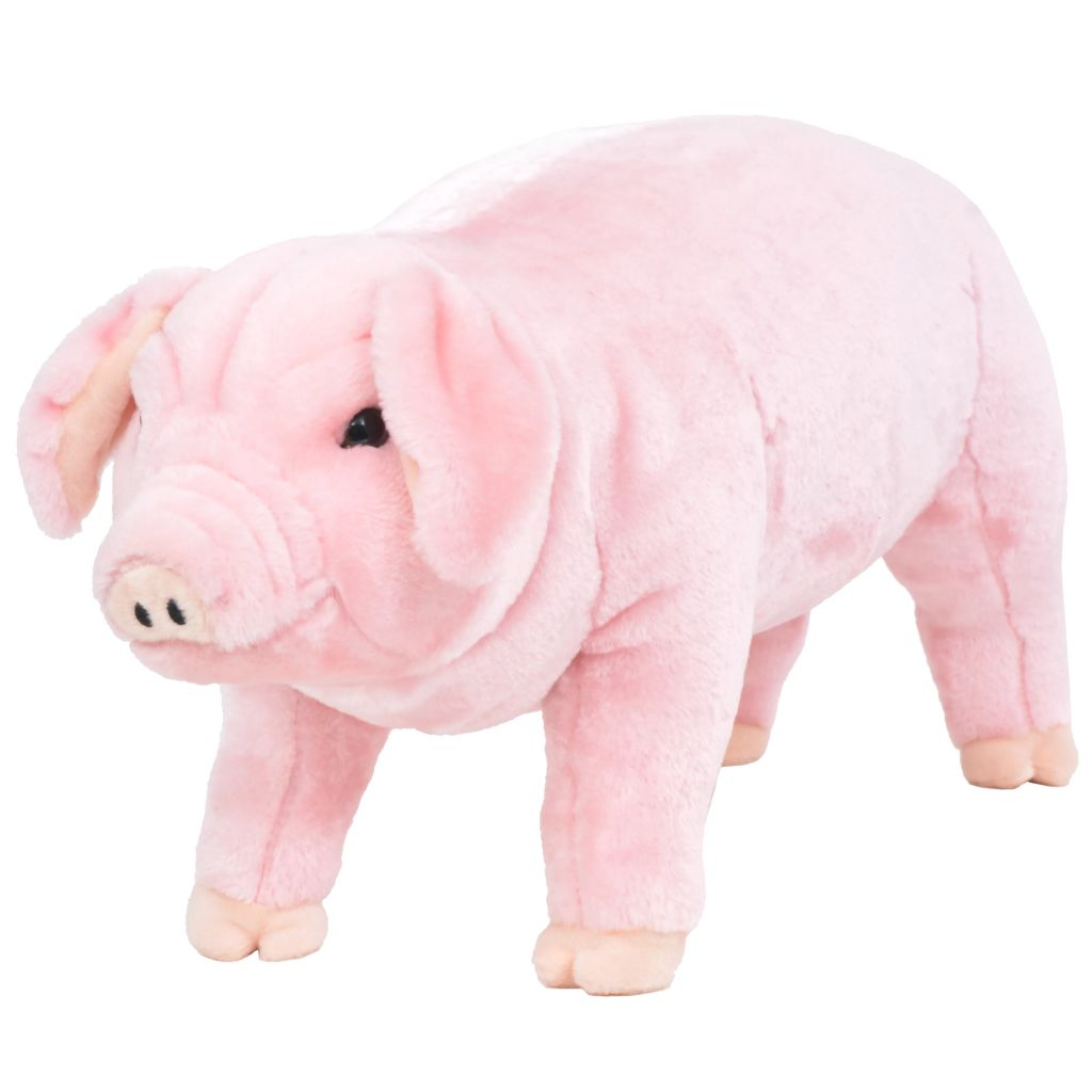 Plüschtier Stehend Schwein Rosa XXL