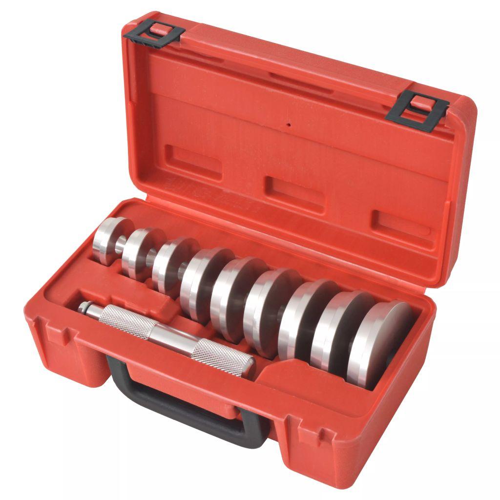Druckstücksatz 10-tlg. Treibsatz Austreiber für Werkstattpresse