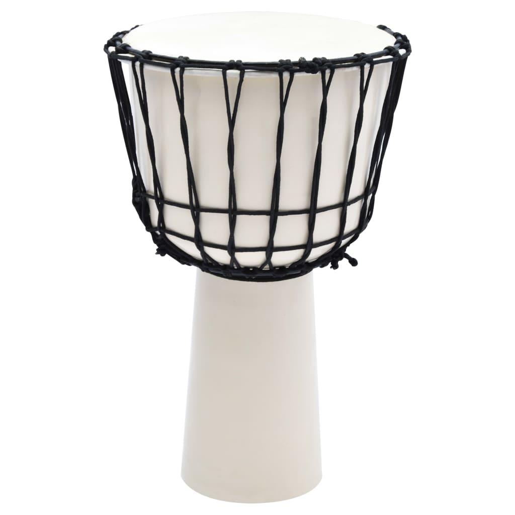 Djembé-Trommel mit Seilspannung 12 Ziegenleder