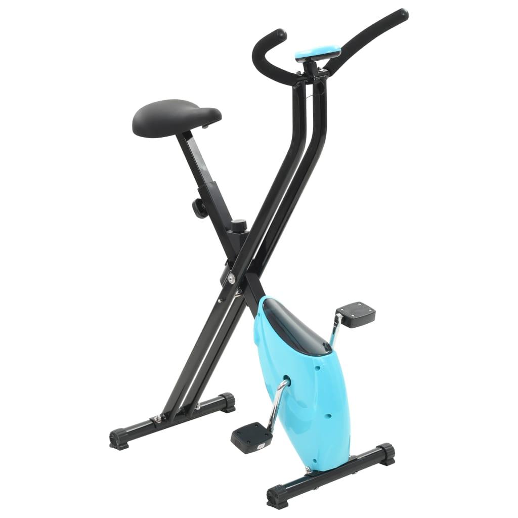Heimtrainer X-Bike Gurtwiderstand Blau