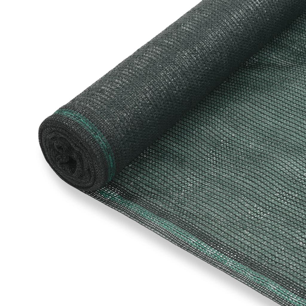 Tennisblende HDPE 2x50 m Grün