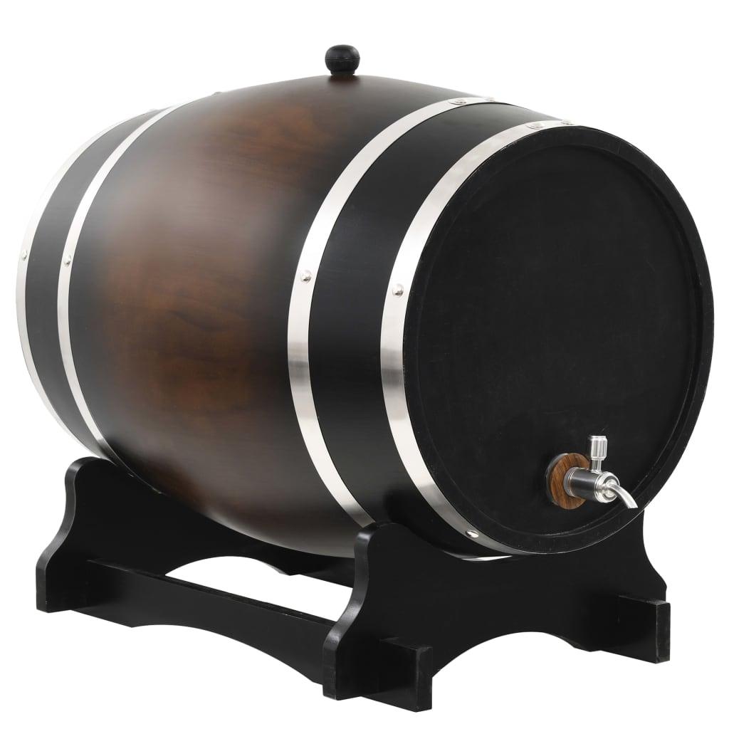 Weinfass mit Hahn Massivholz Kiefer 35 L