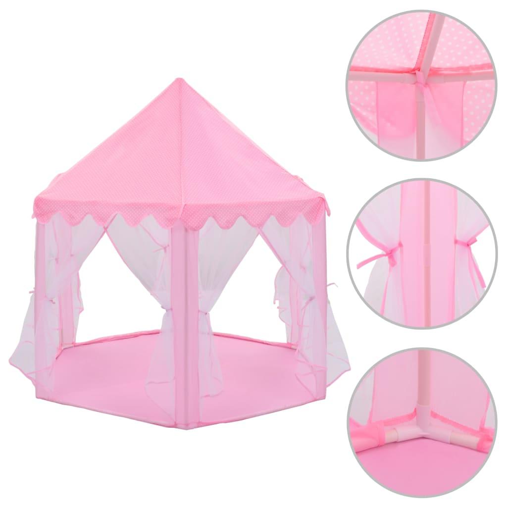 Prinzessin-Spielzelt Rosa