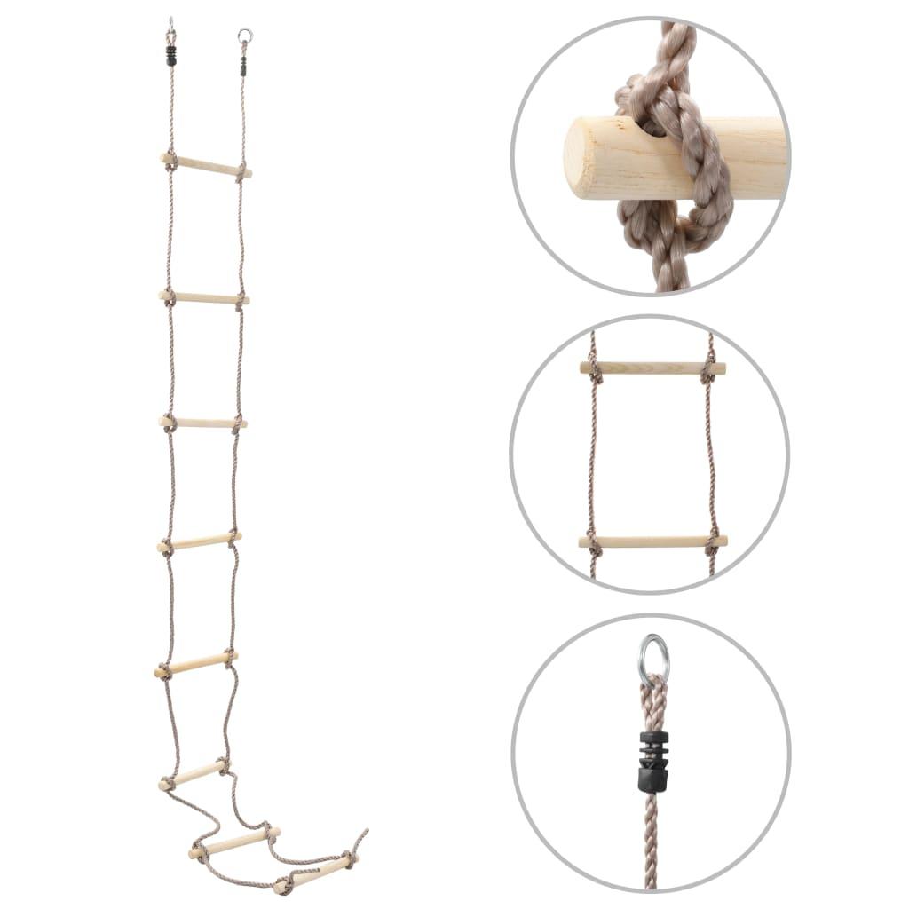 Kinder-Strickleiter 290 cm Holz