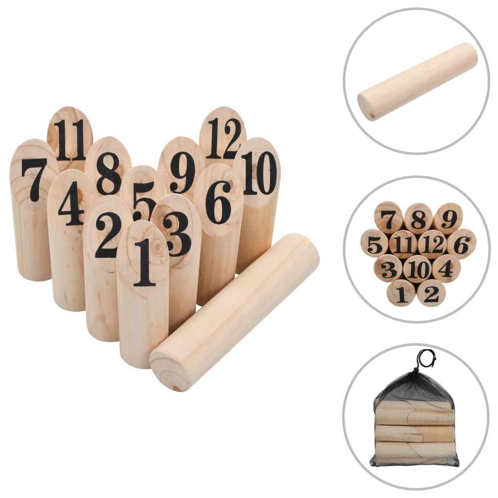 Kubb Spielset Holz