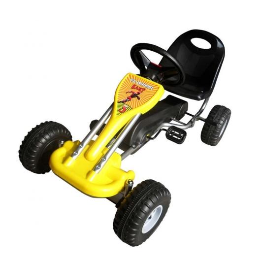 Pedal-Gokart Gelb