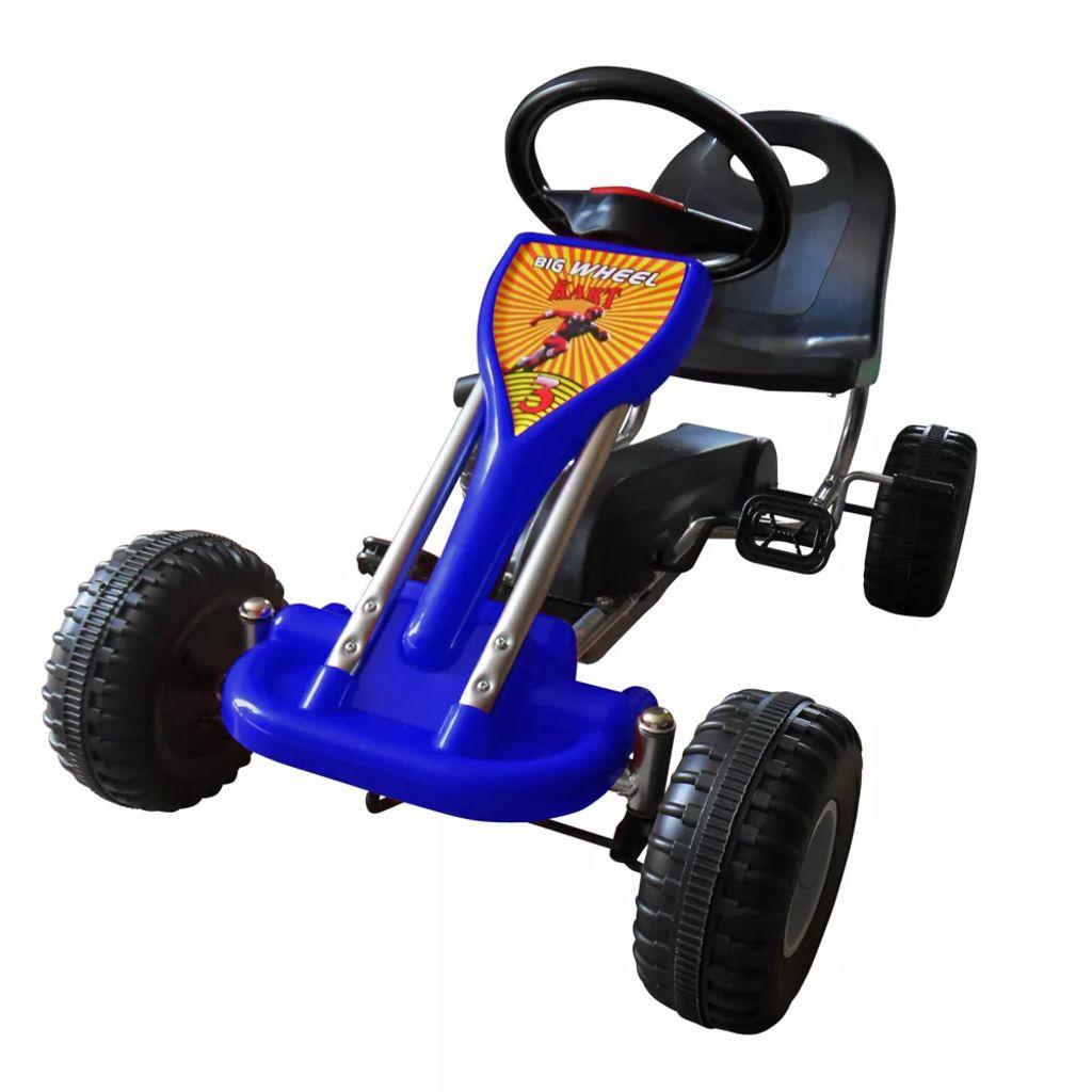 Pedal-Gokart Blau