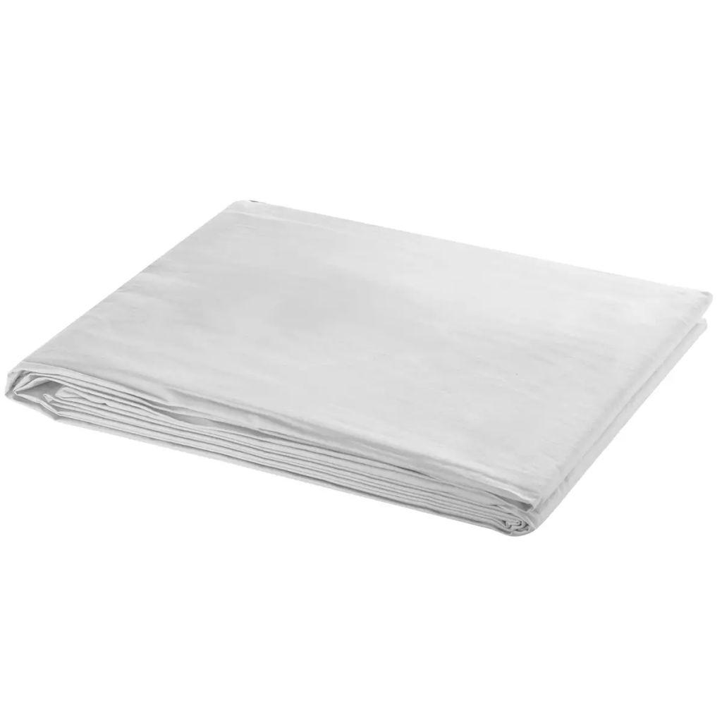 Fotohintergrund Baumwolle Weiß 600 x 300 cm