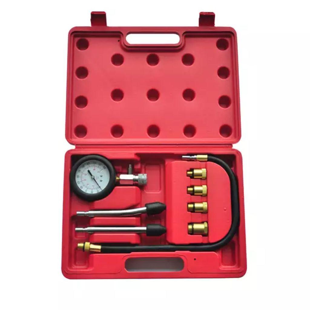 9-tlg. Kompressionstester-Set für Benzinmotoren