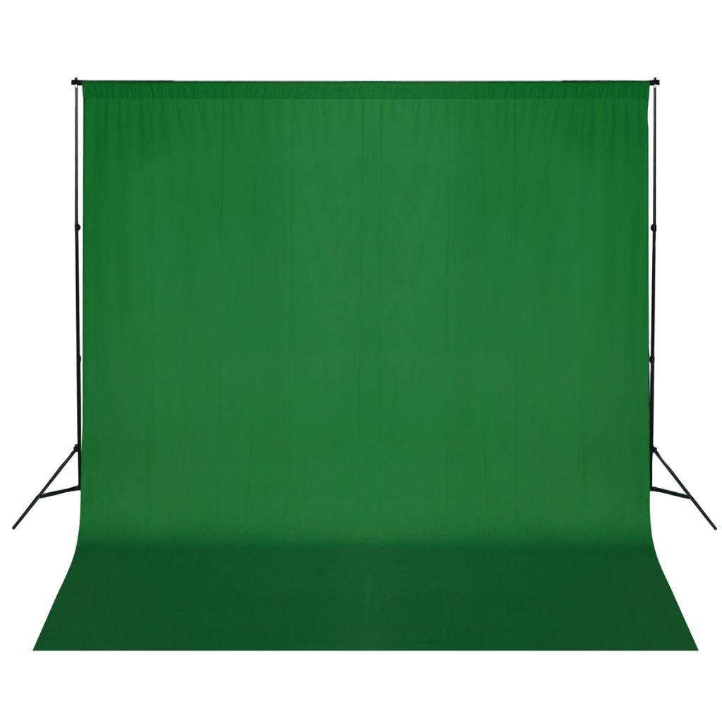 Fotohintergrund-System 600 x 300 cm Grün