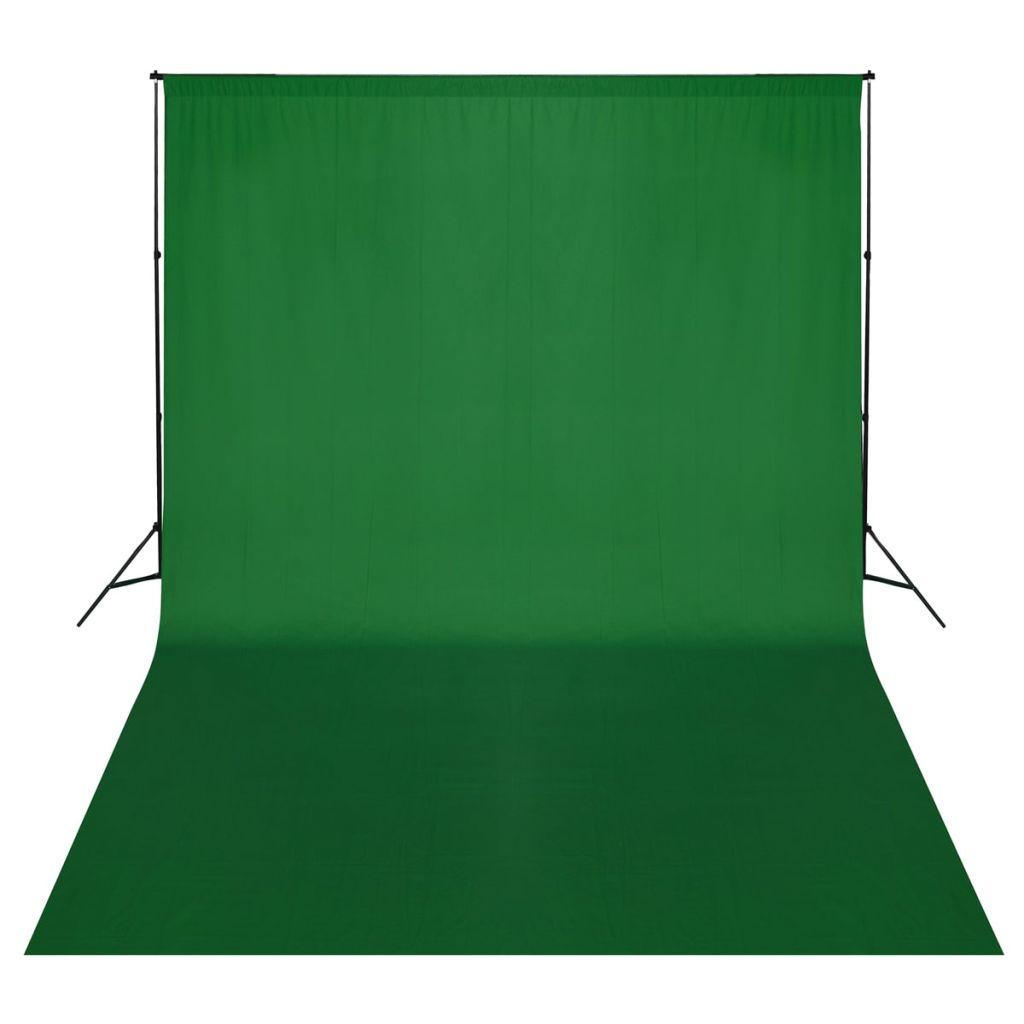 Fotohintergrund-System 500 x 300 cm Grün