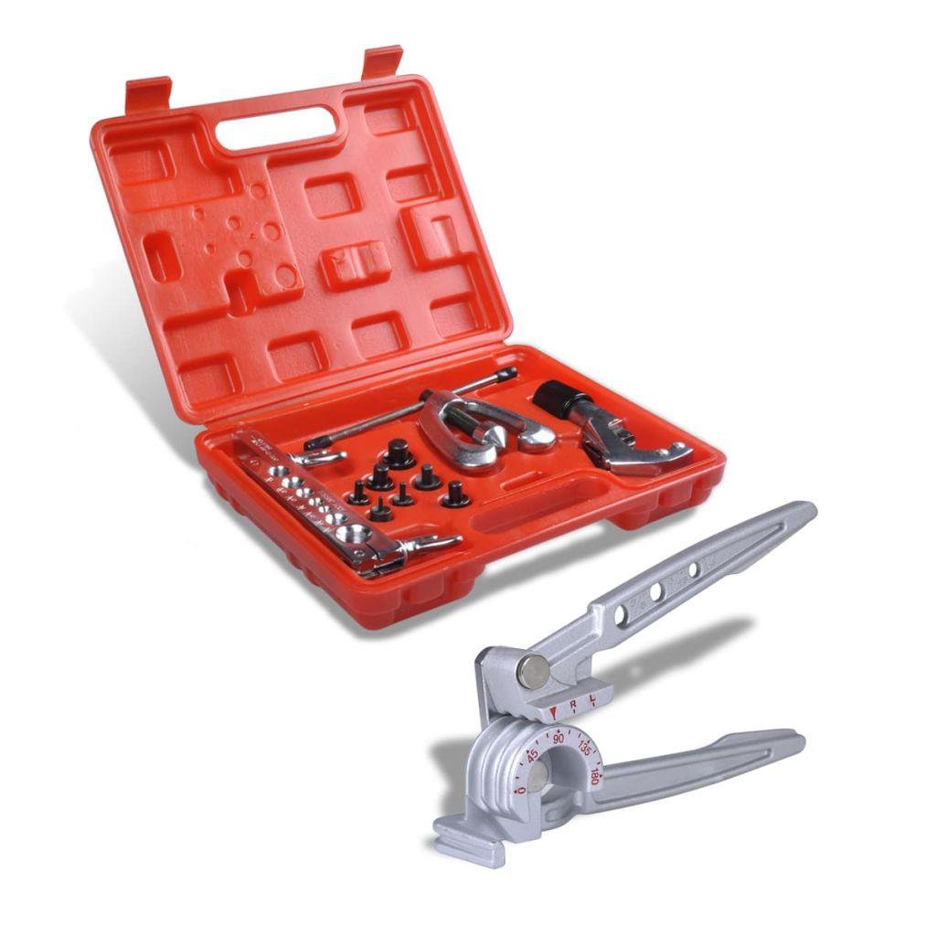 Bördelwerkzeug Set mit Rohrbiegegerät
