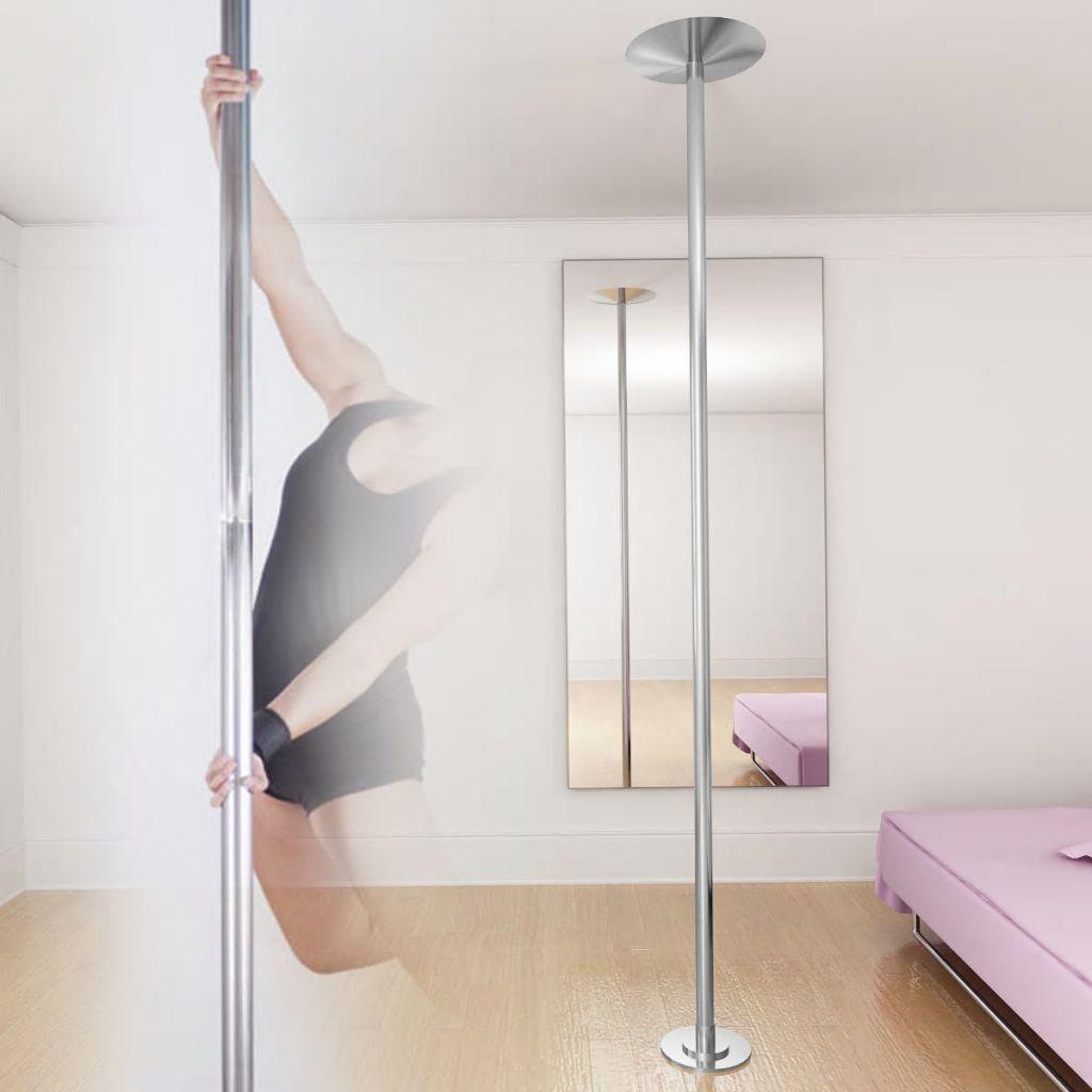 Hochwertige Tanzstange Pole Dance 45mm verstellbare Höhe 224 - 275 cm