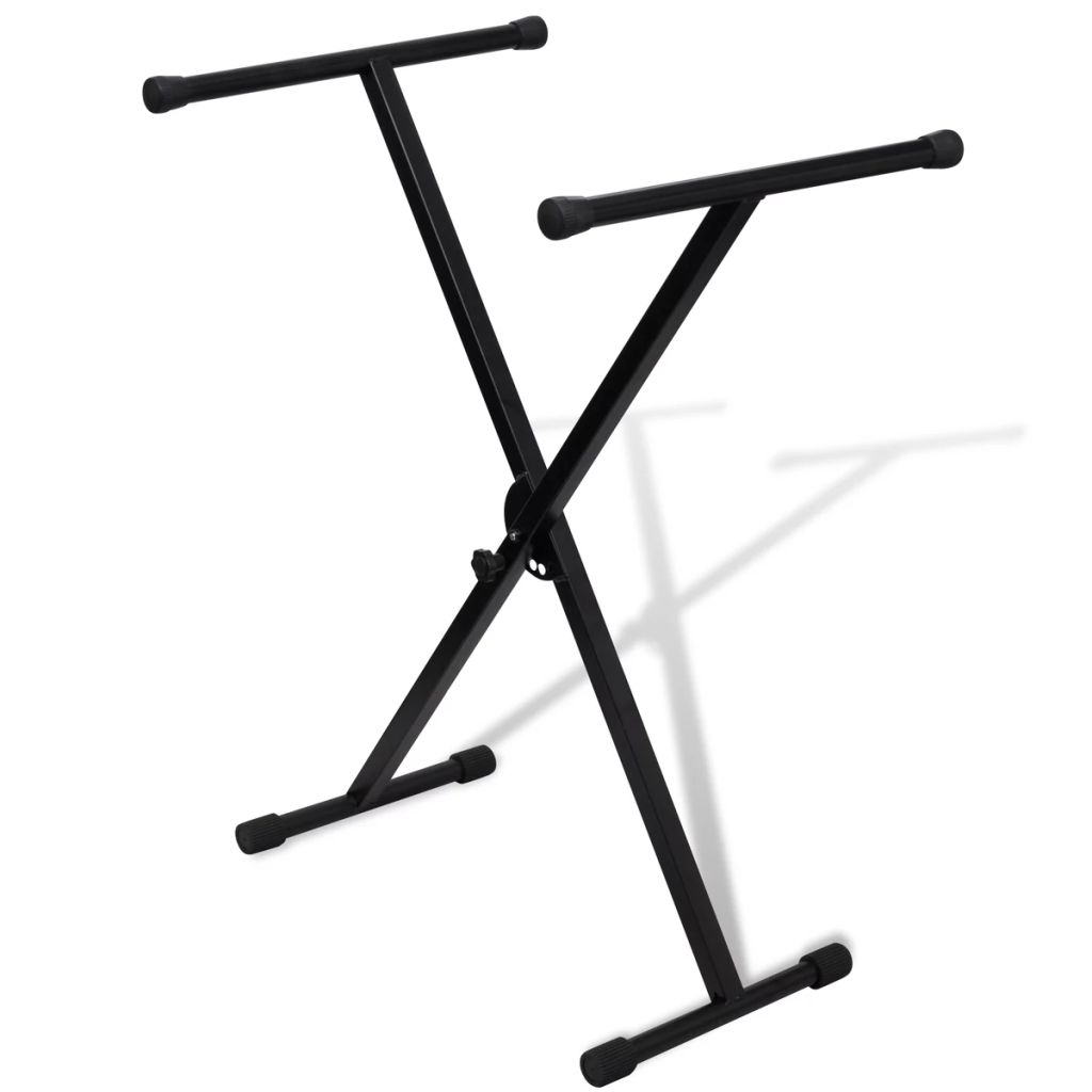 Einstellbare Einstrebige Versteift Keyboardständer X-Rahmen