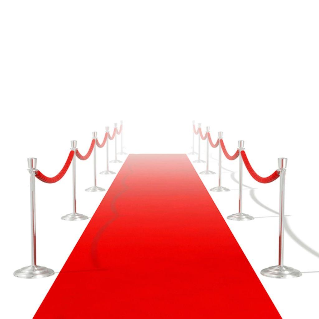 Roter Teppich 1 x 20 m Extra Schwer 400 g/m²