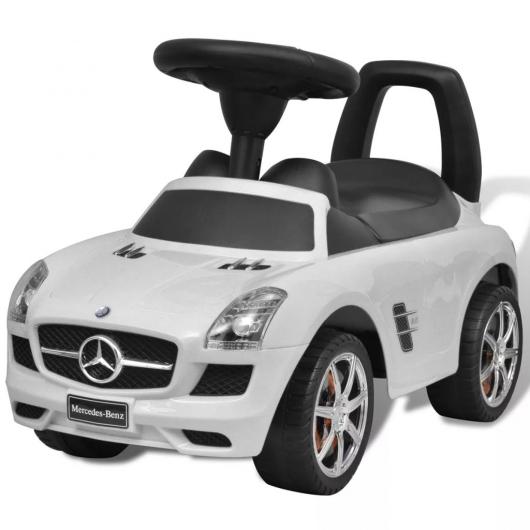 Mercedes Benz Kinderauto Fußantrieb Weiß