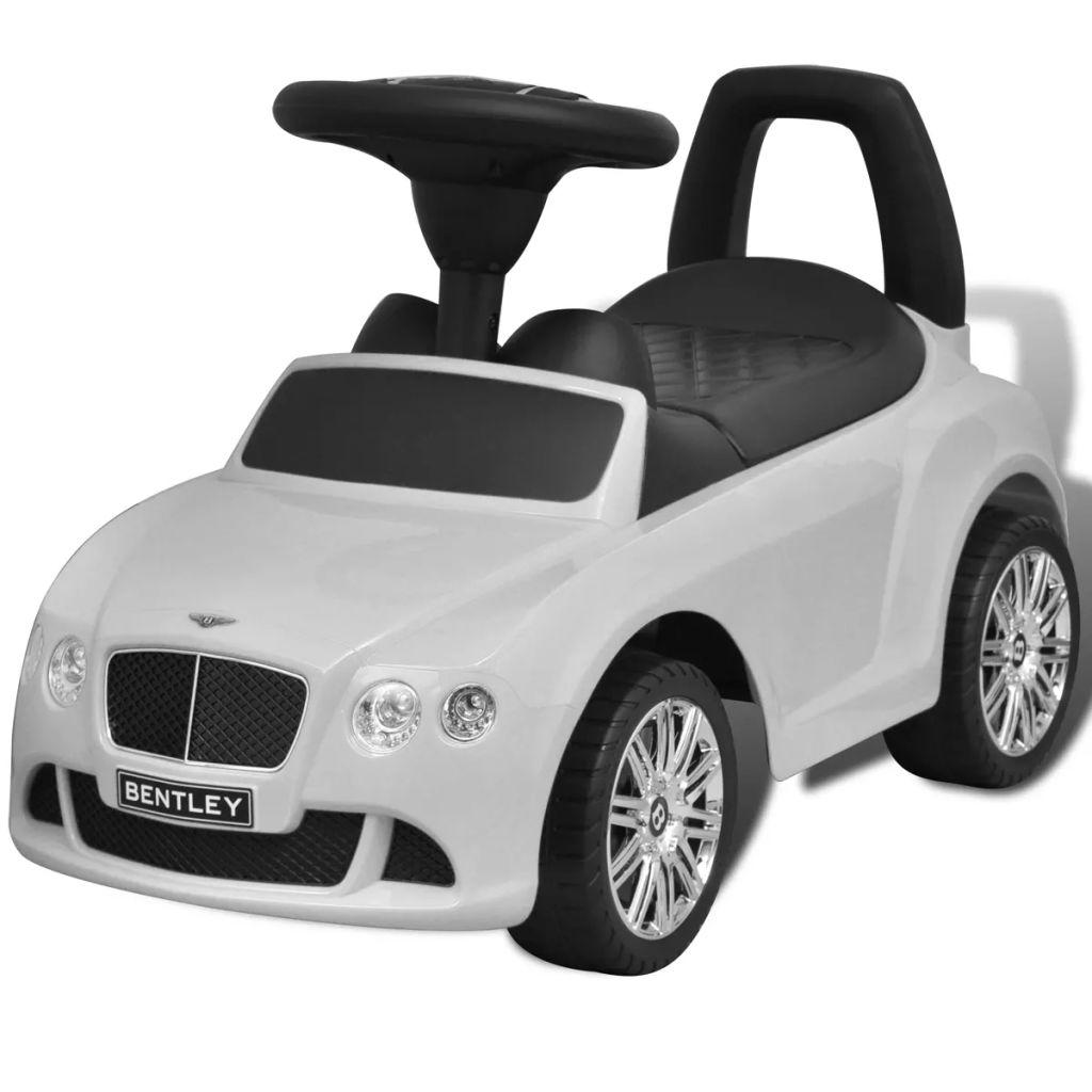 Bentley Kinderauto mit Fußantrieb Weiß