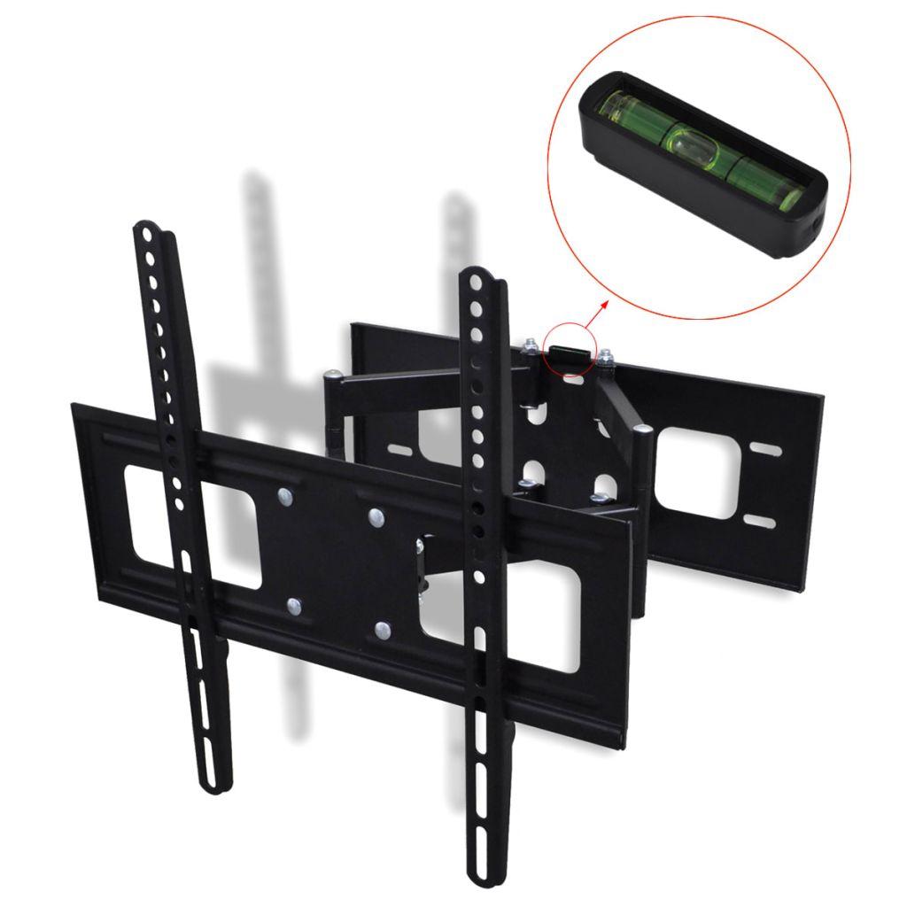 Zweiarmige TV Wandhalterung schwenkbar kippbar 3D 400 x 400 mm 32 - 55