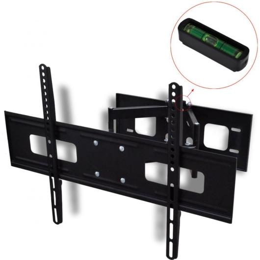Zweiarmige TV Wandhalterung schwenkbar kippbar 3D 600 x 400 mm 37 - 70