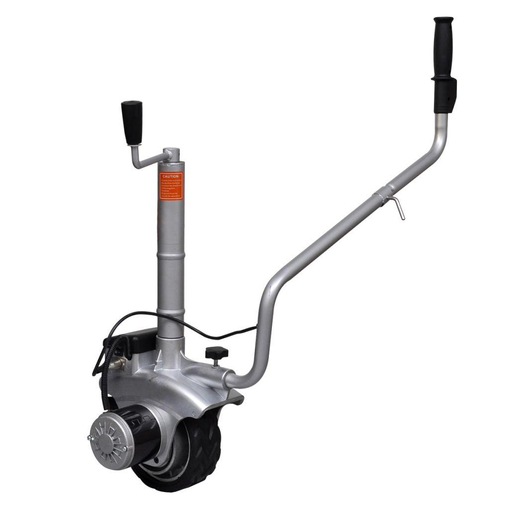 Alu Motorisierter Rangierhilfe für Anhänger 12 V 350 W