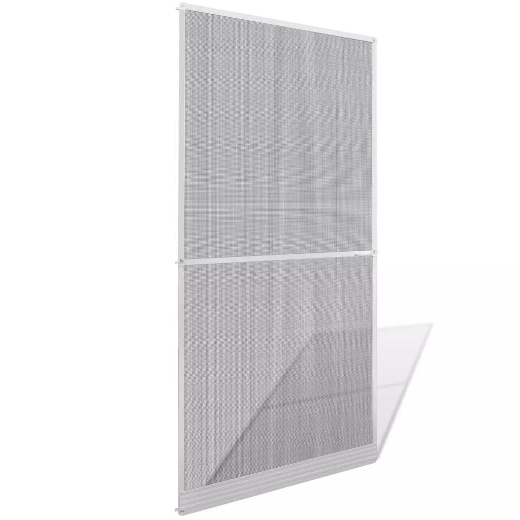 Insektenschutz mit Scharnieren für Türen 100 x 215 cm weiß