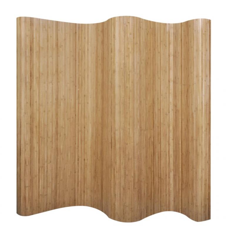 Raumteiler Bambus Natur 250x165 cm