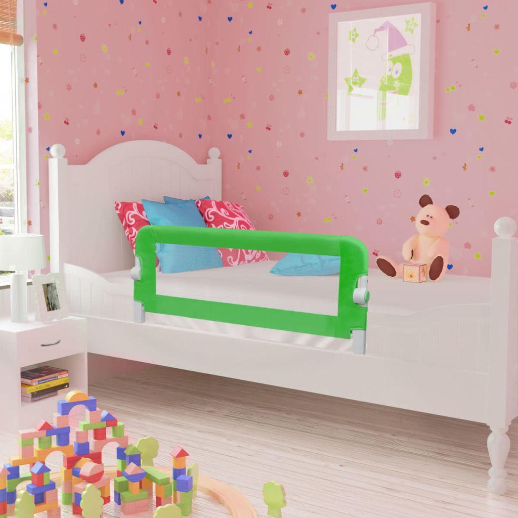 Kleinkind Sicherheit Bettgitter 102 x 42 cm Grün