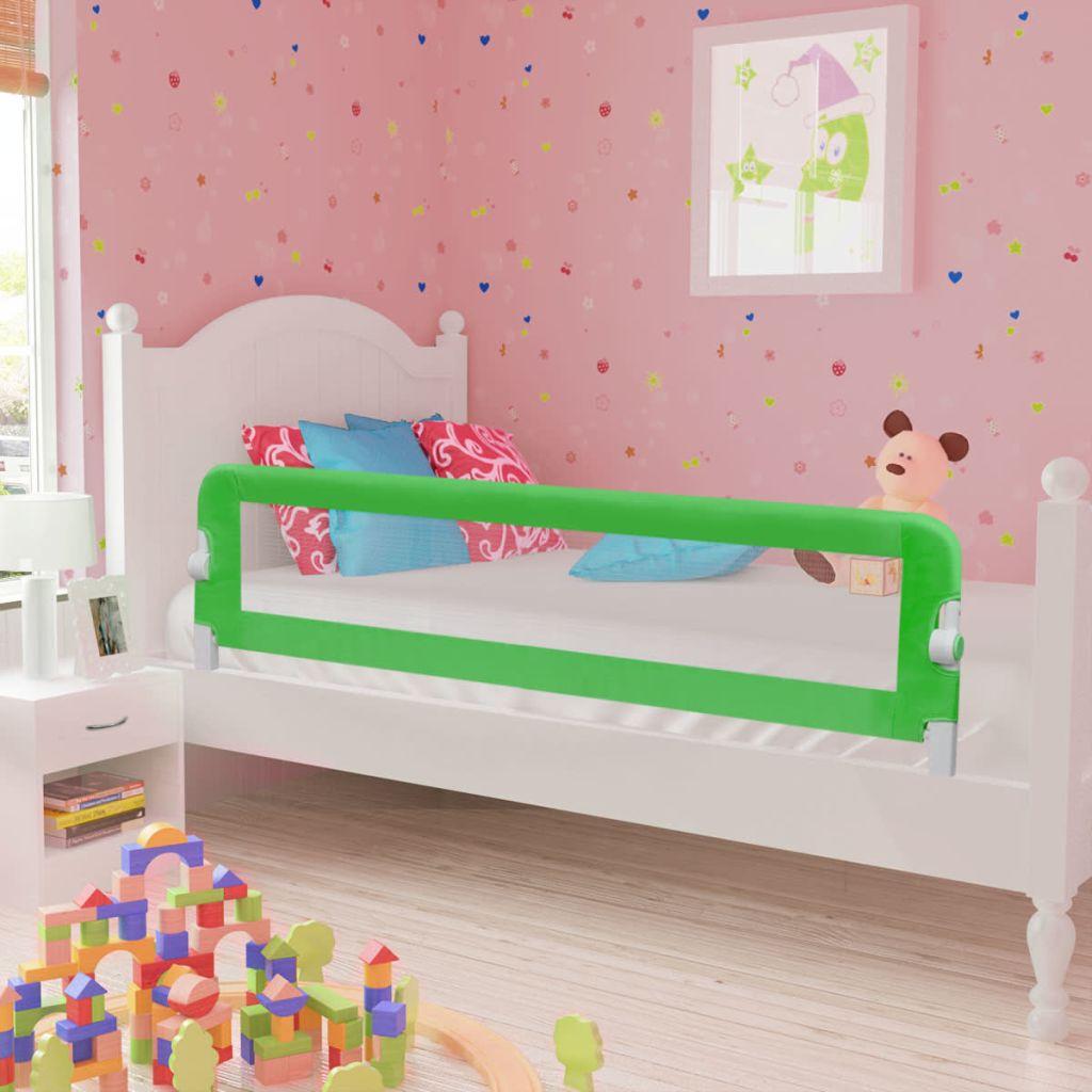 Kleinkind Sicherheit Bettgitter 150 x 42 cm Grün
