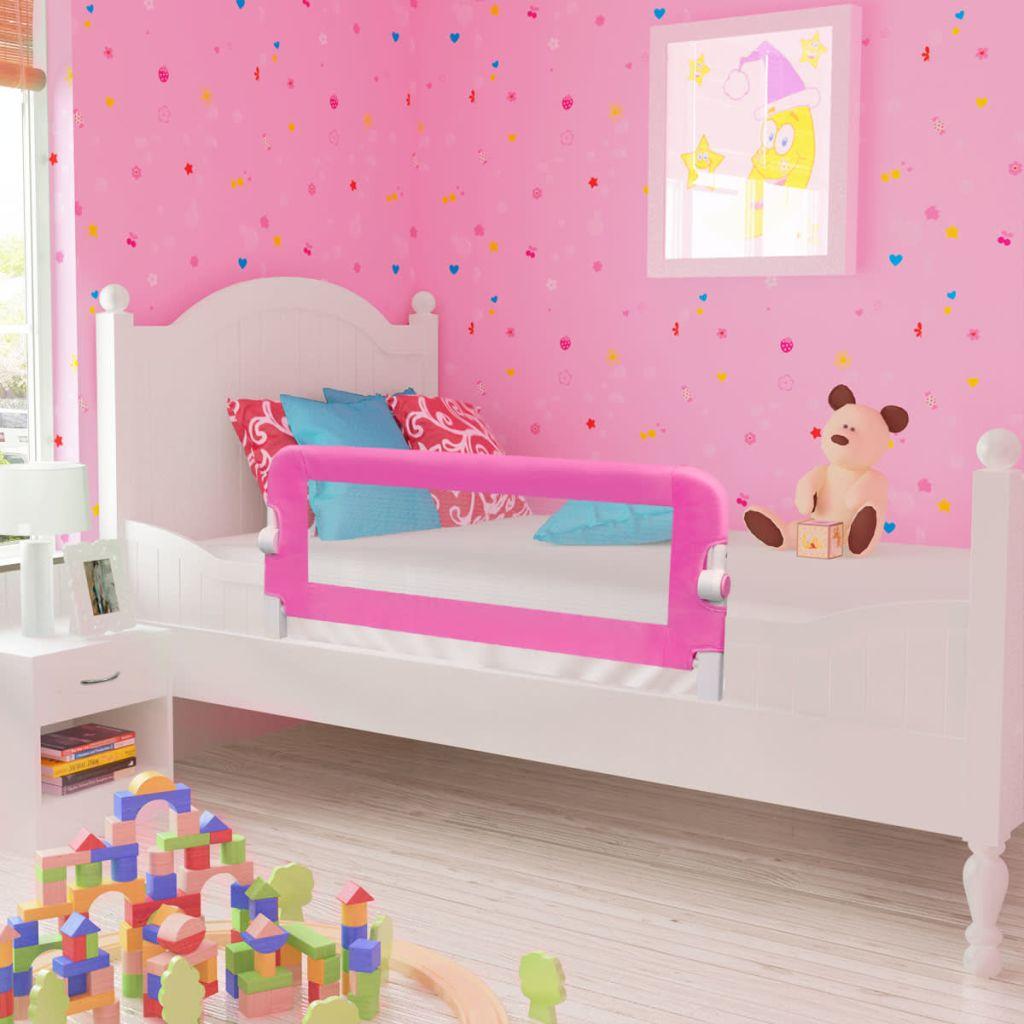 Kleinkind Sicherheit Bettgitter 102 x 42 cm Rosa