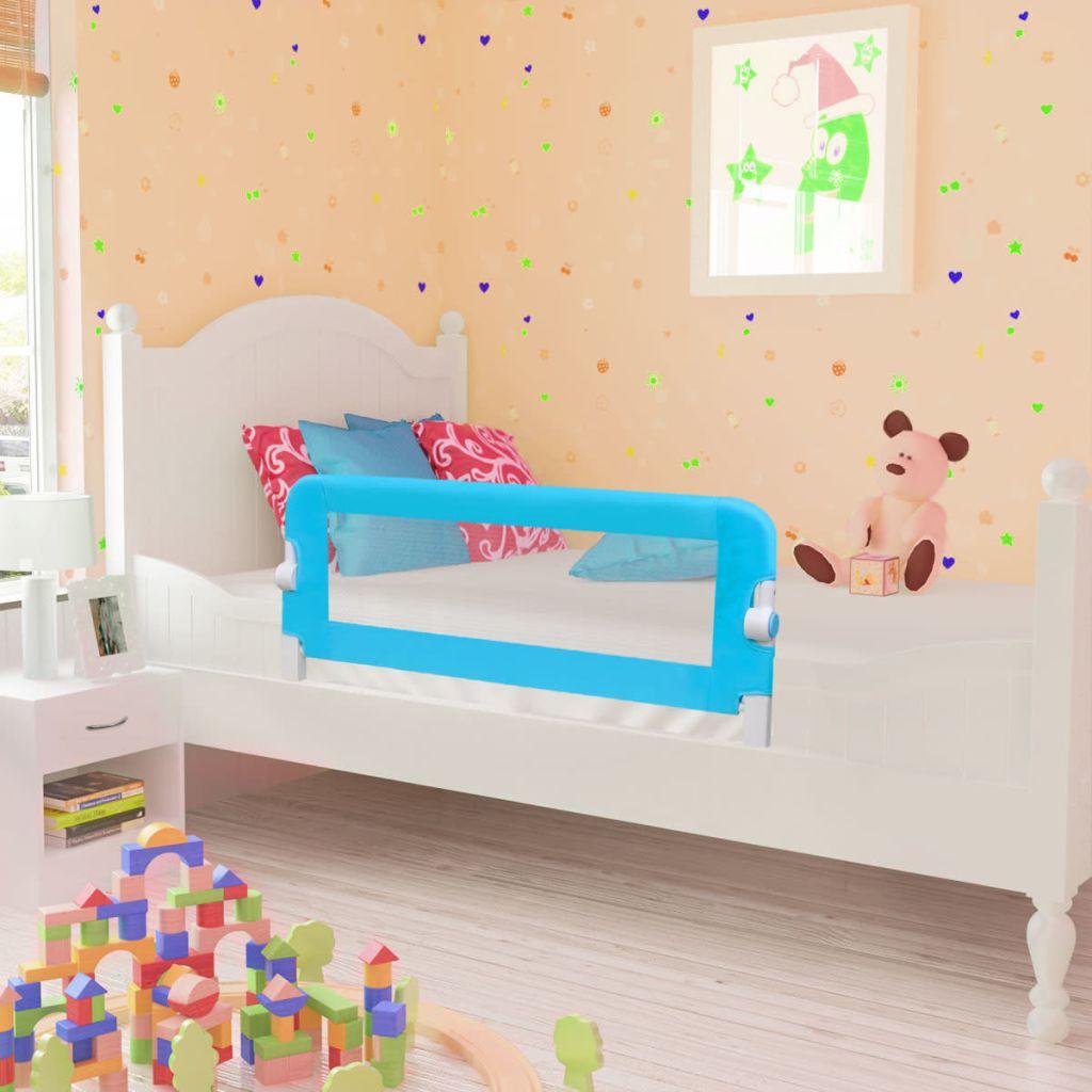 Kleinkind Sicherheit Bettgitter 102 x 42 cm Blau
