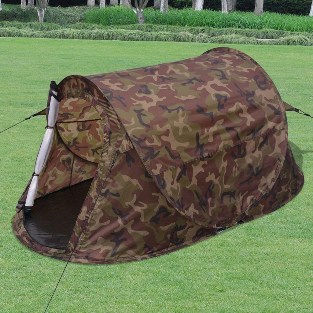 2-Personen Pop-Up-Zelt Camouflage