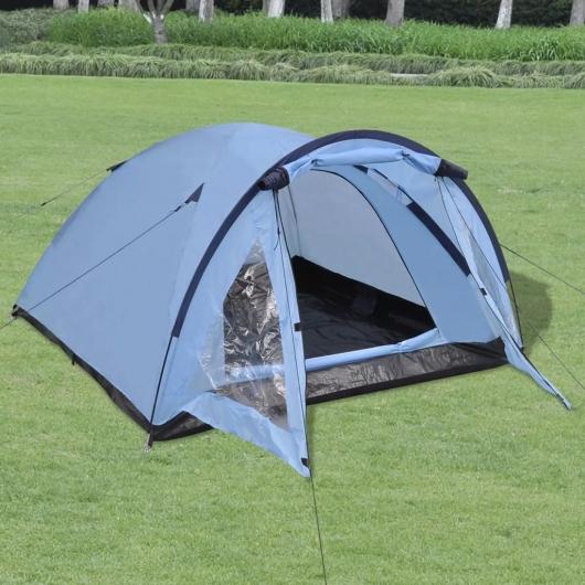 3-Personen-Zelt Blau