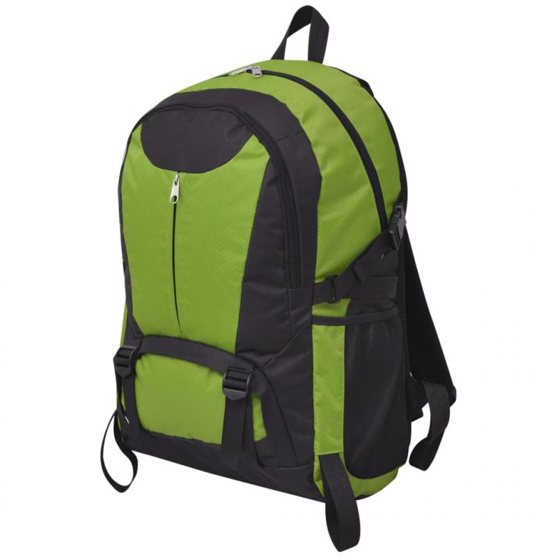 Wanderrucksack 40 L Schwarz und Grün