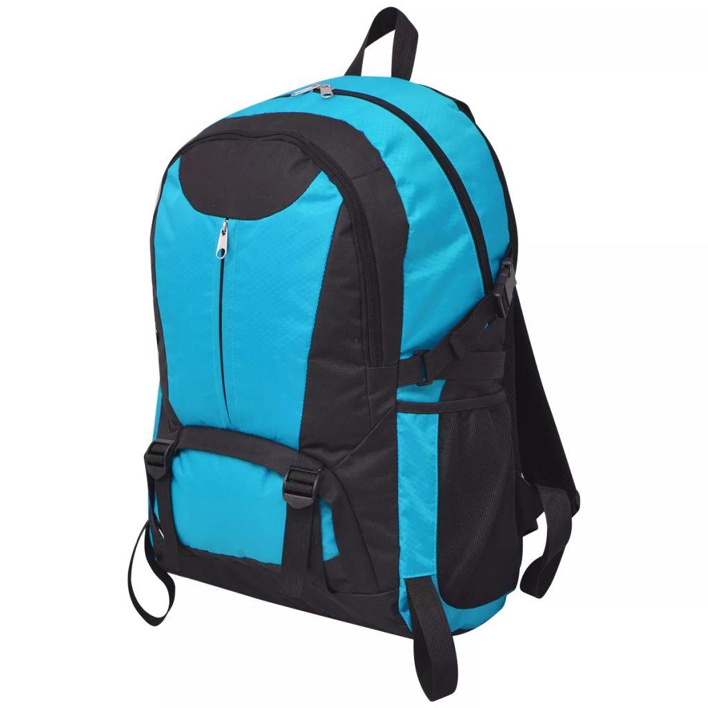 Wanderrucksack 40 L Schwarz und Blau