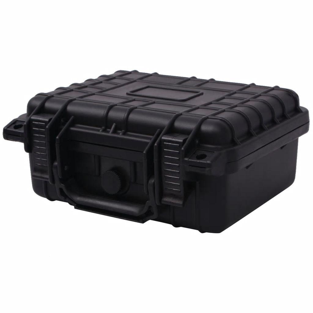 Gefahrgutkoffer Schwarz 27x24,6x12,4 cm