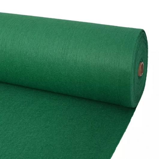 Messeteppich Glatt 1x24 m Grün
