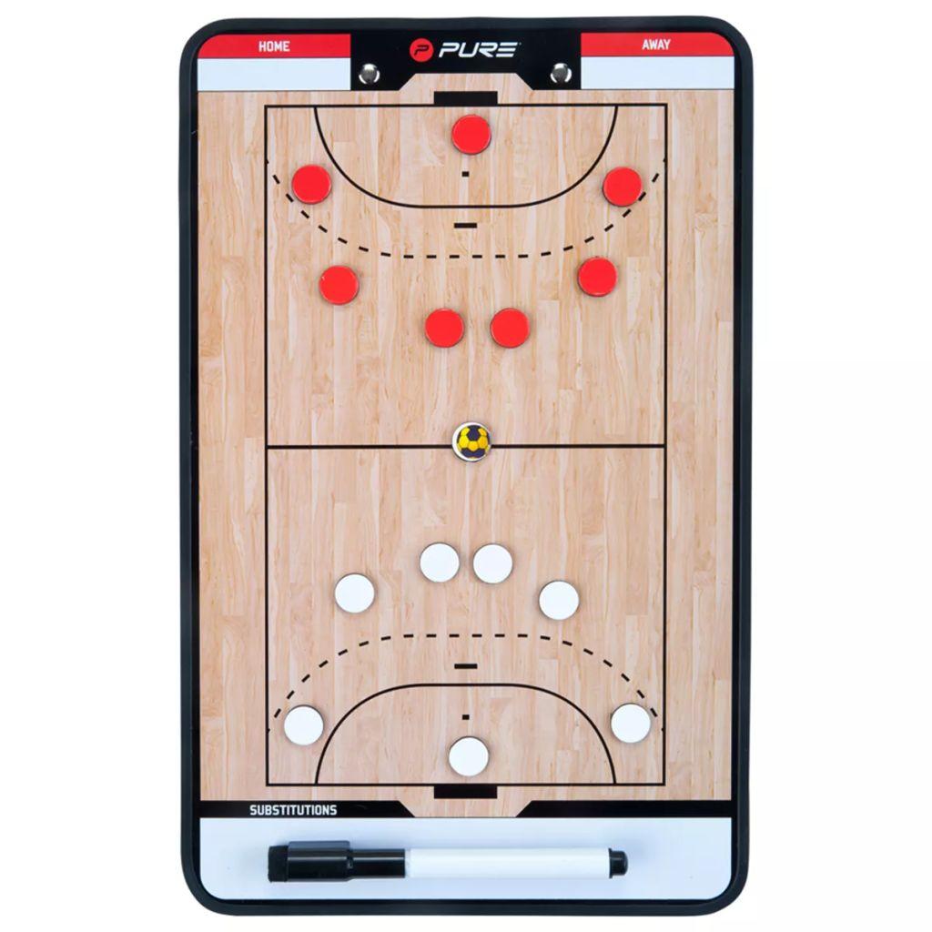 Pure2Improve Coach-Board Handball 35×22 cm P2I100630