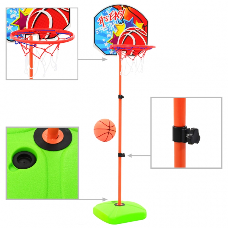 Kinder Basketballkorb und Ball Set