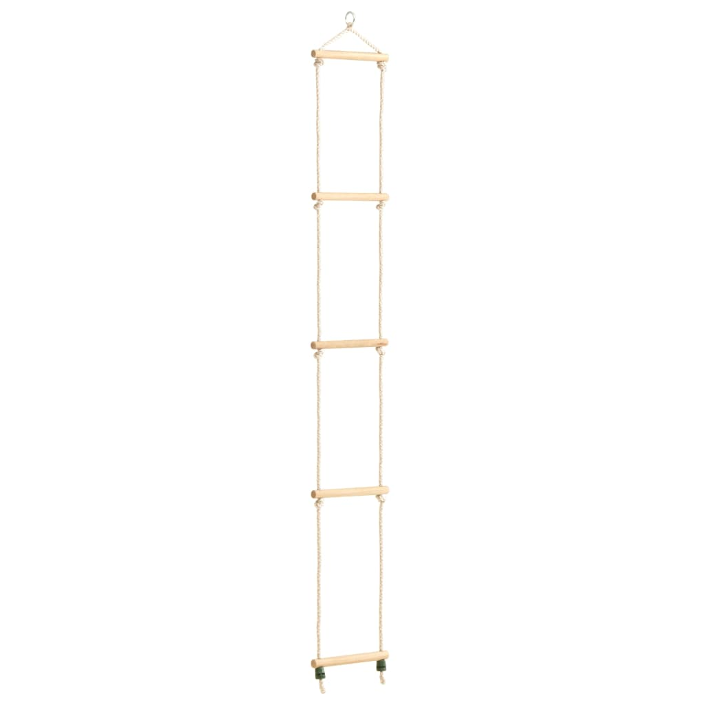 Kinder-Strickleiter Massivholz und PE 30x168 cm
