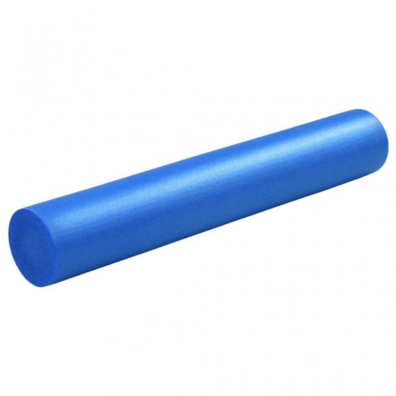 Yoga Schaumstoffrolle 15×90 cm EPE Blau