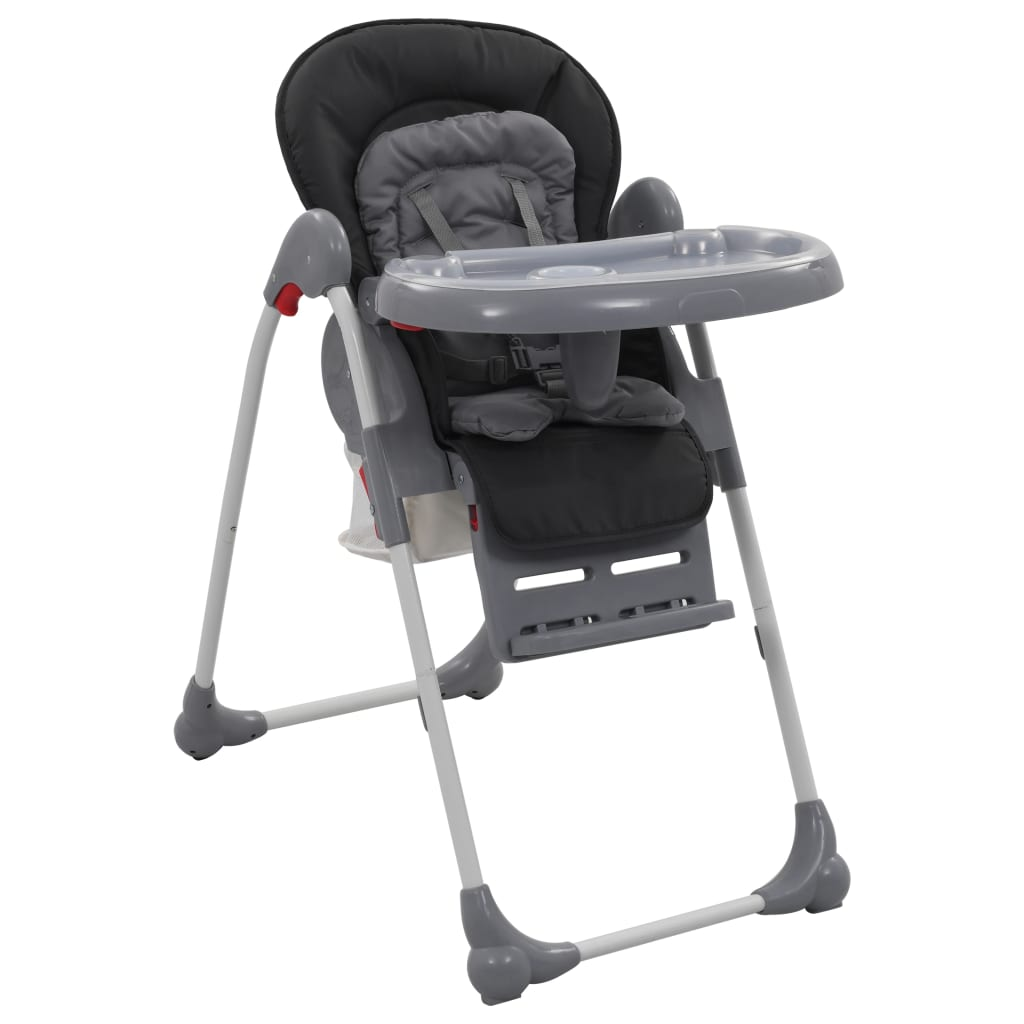 Baby-Hochstuhl Grau