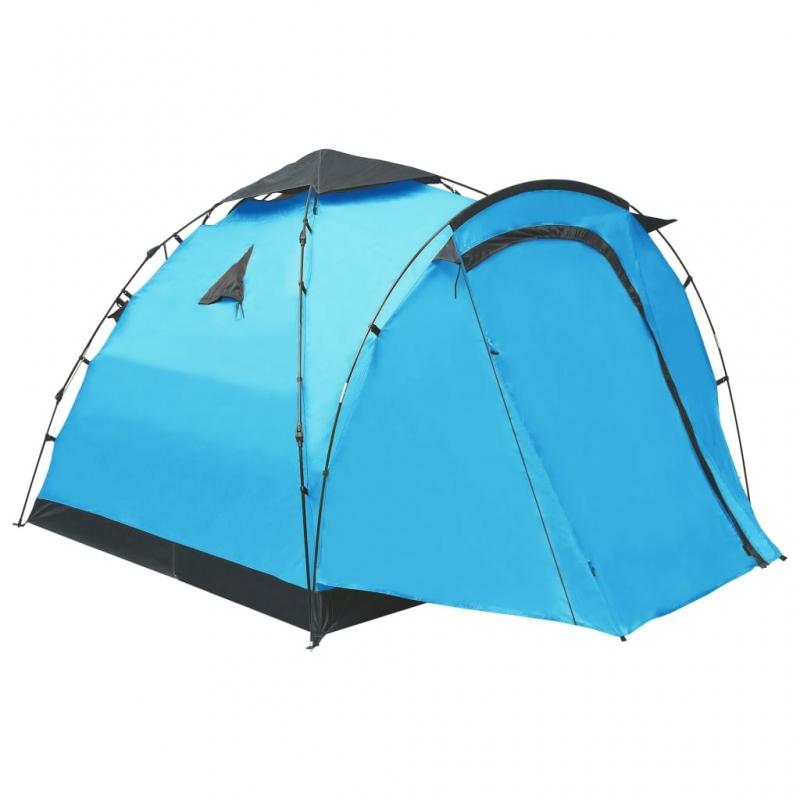 Pop-Up-Campingzelt 3 Personen Blau