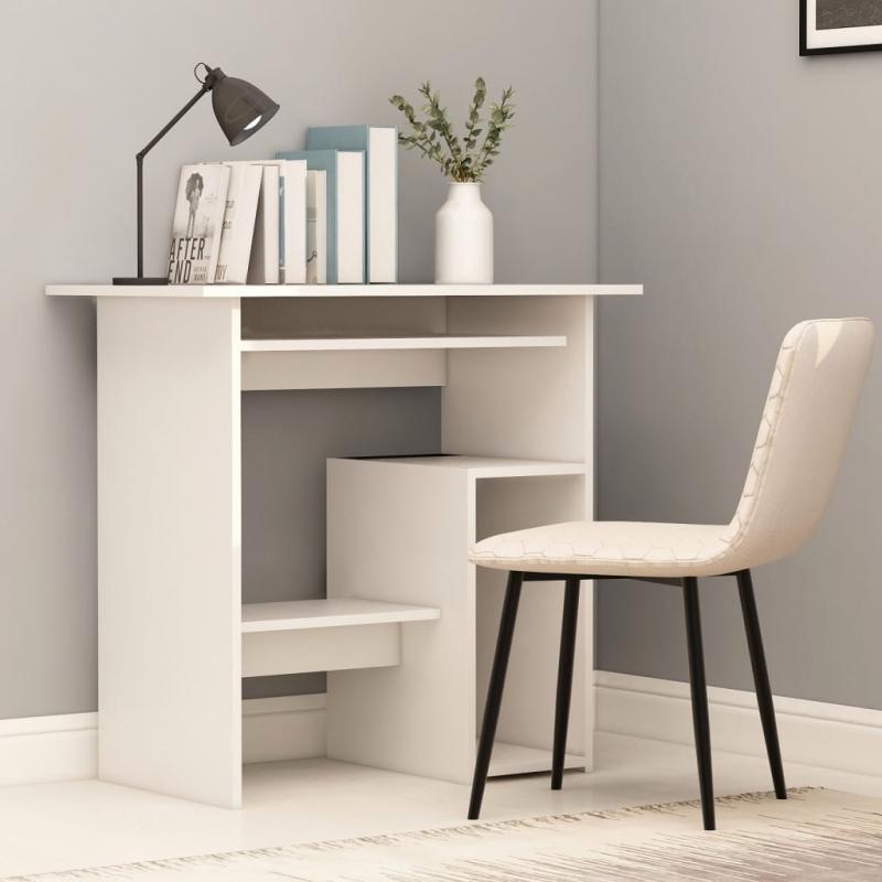 Schreibtisch Weiß 80 x 45 x 74 cm Spanplatte