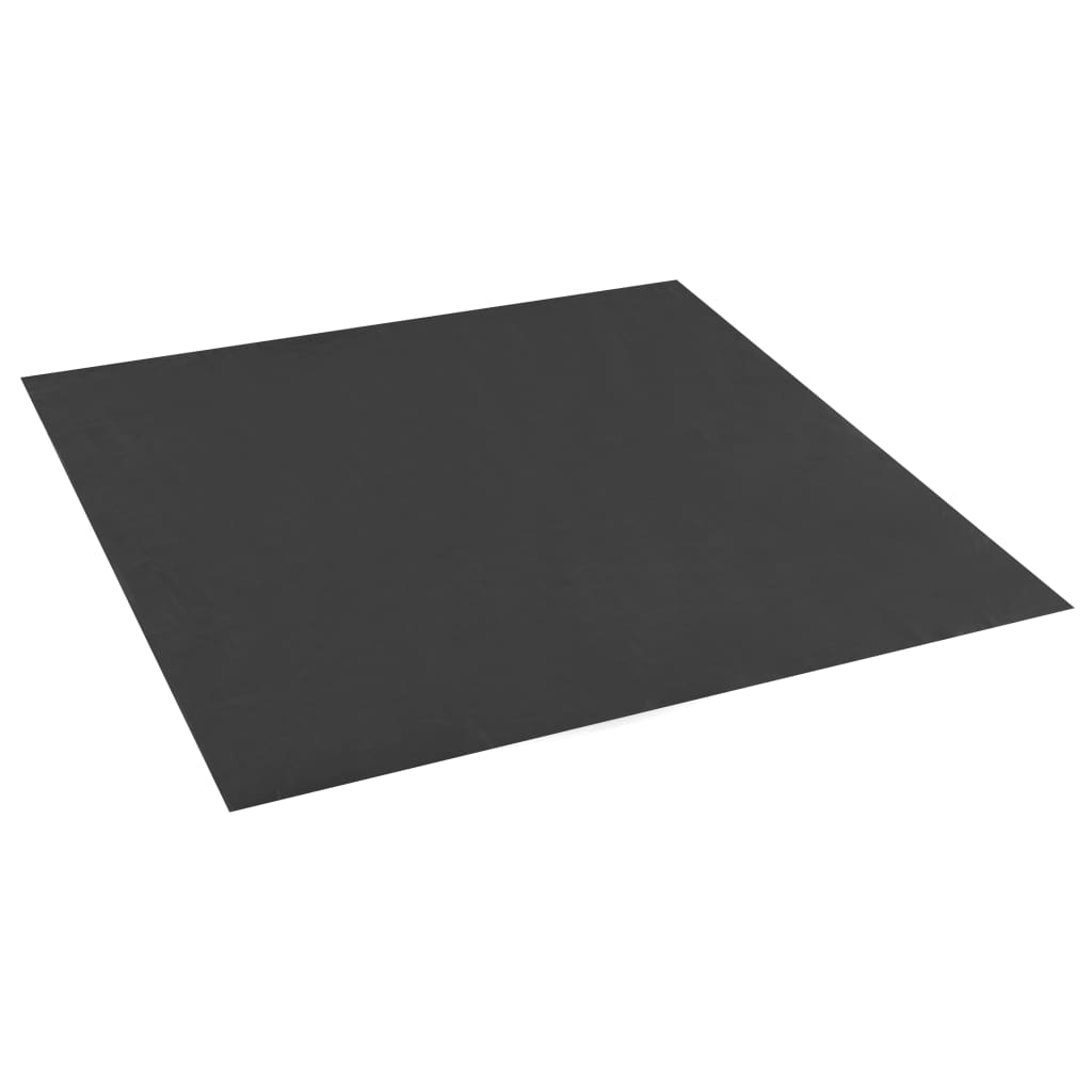 Sandkasten-Folie Schwarz 100×100 cm