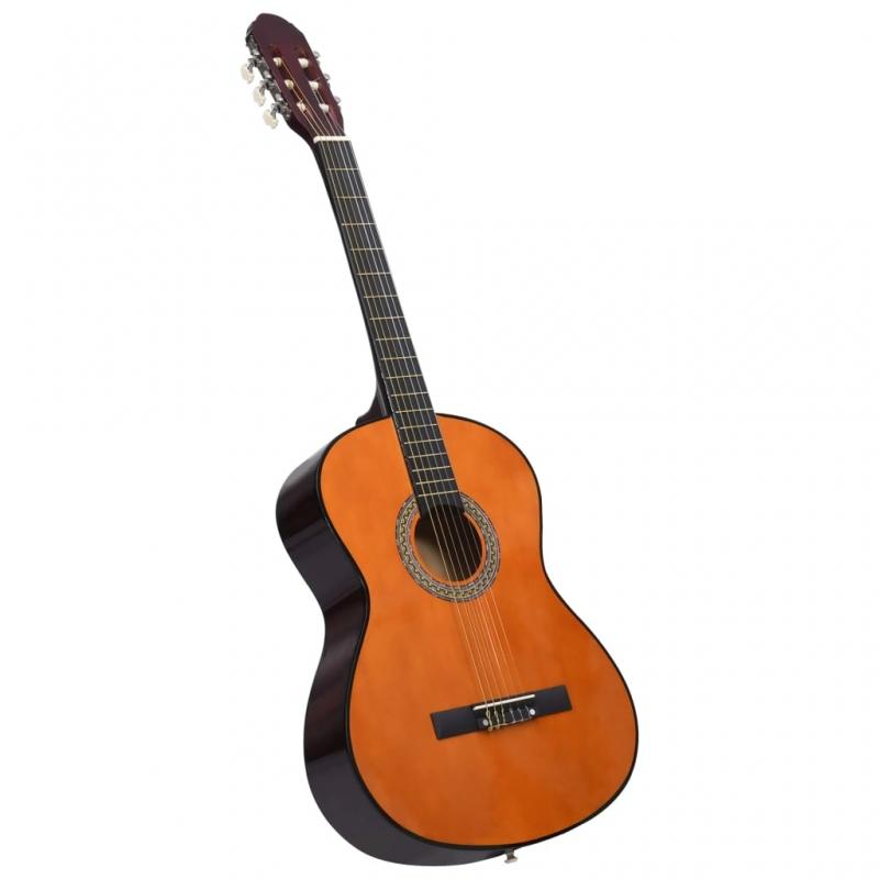 Klassikgitarre für Anfänger 4/4 39 Lindenholz