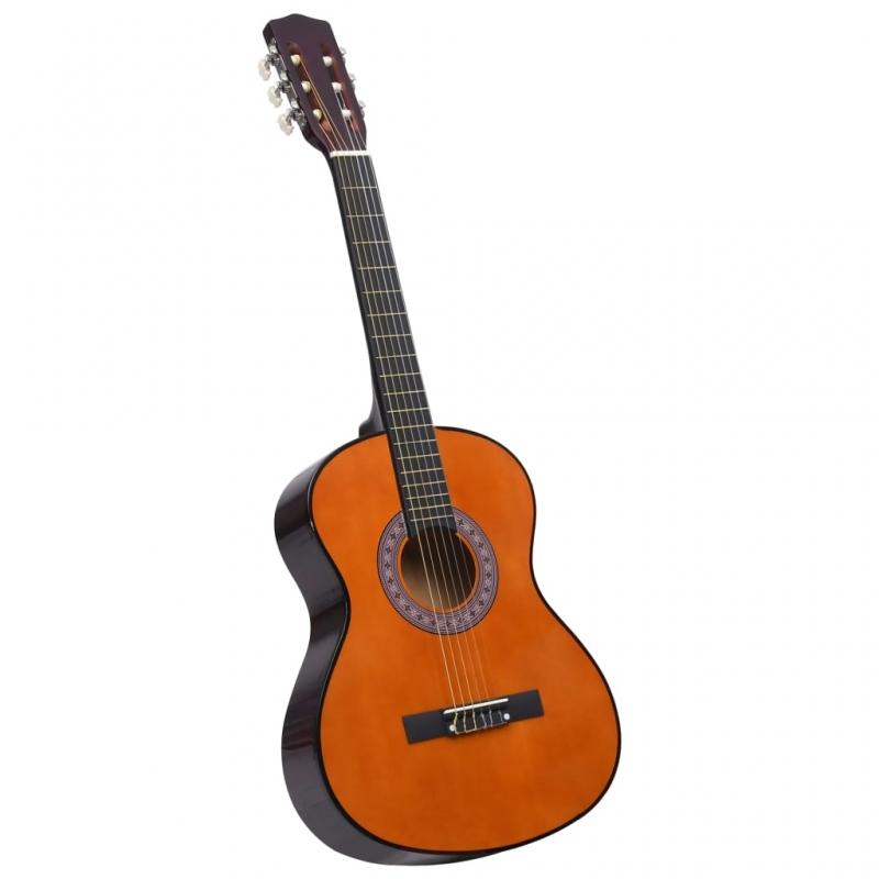 Klassikgitarre für Anfänger und Kinder 3/4 36 Lindenholz