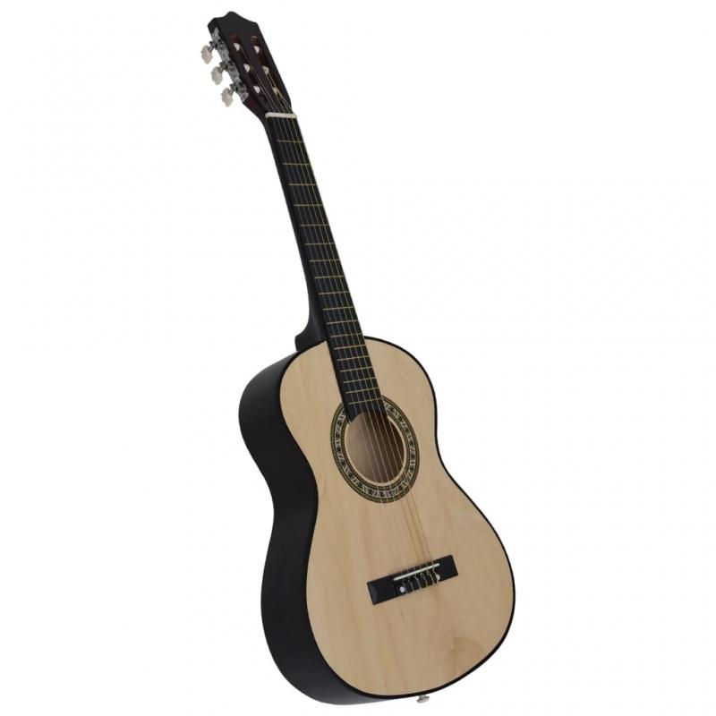 Klassische Gitarre für Anfänger und Kinder 1/2 34 Lindenholz