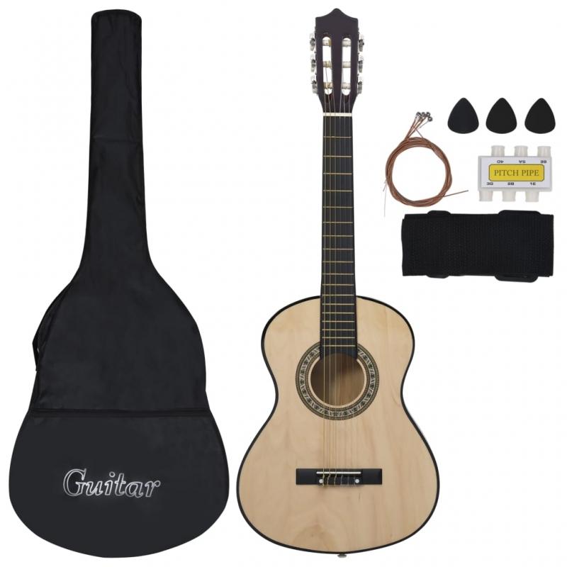8-tlg. Klassische Gitarre für Kinder-Anfänger 1/2 34